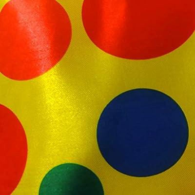 Jumbo Giant Polka Dot Clown Neck Tie: Toys & Games