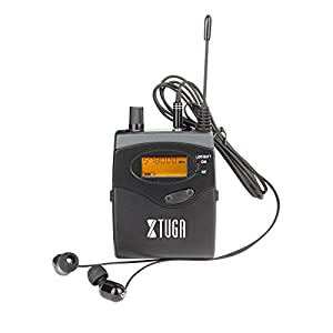 Top Quality!! Xtuga RW2080 In Ear Monitor System 2 Channel 2/4/6/8/10 Bodypack Monitoring with in earphone wireless SR2050 Type! (Only one bodypack)