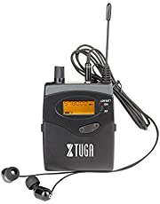 Xtuga RW2080 - Sistema de monitoreo In-Ear (2 canales, corporal 2/4/6/8/10, monitoreo con audífonos inalámbricos SR2050)