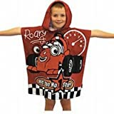 Kids/Childrens Roary Poncho 100% Cotton Hooded Towel (24 x 47 in)