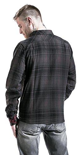 Brandit Duncan Chemise marron/noir XL