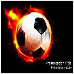 Amazon Com Soccer Powerpoint Template Soccer Ppt Template