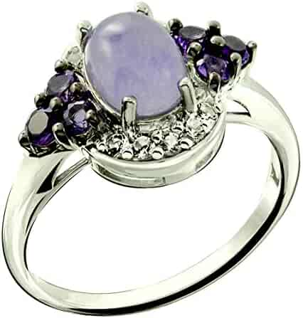 b248635ff611b Shopping Blues or Clear - Sterling Silver - 3 Stars & Up - Jewelry ...
