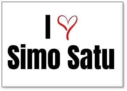 Amazon i love simo satu fridge magnet design 3 kitchen dining i love simo satu fridge magnet design 3 thecheapjerseys Choice Image