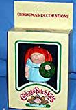 Cabbage Patch Kids Christmas Ornament - Red-Haired Girl w/Wreath
