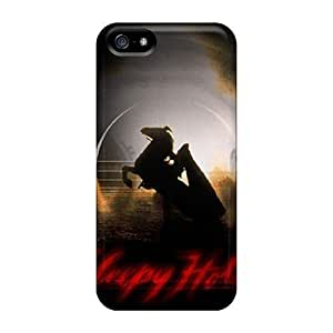 Anti-scratch And Shatterproof Headless Horseman Phone Case For Iphone 5/5s/ High Quality Tpu Case