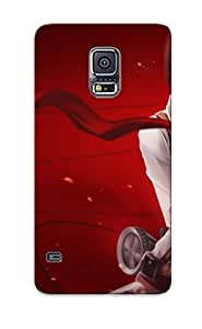 For Galaxy S5 Fashion Design Mikasa Ackerman Attack On Titan Case-NyTmAnh2750fLKOO / Cover Specially Made For Thanksgiving Day's Gift