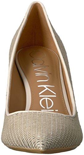 Silver Natural White Klein Soft Calvin Gayle Pump Women's CX8xTwqO