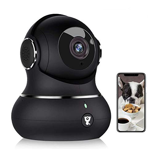 Indoor Wireless Security Camera, [2021 Newest] Littlelf Smart 1080P Home WiFi IP Camera for Pet/Baby/Elder Monitor with…