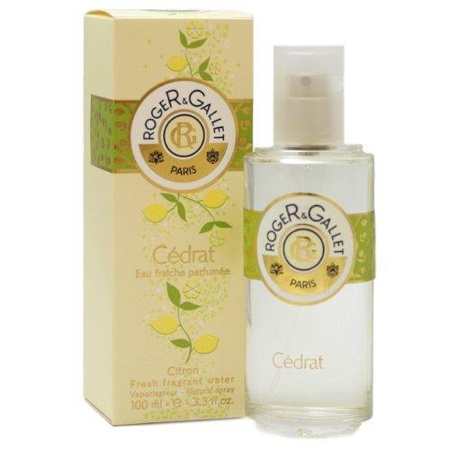 Cedrat Perfume by Roger & Gallet for Women. Eau Fraiche Parfume / Fresh Fragrant Water Spray 3.3 Oz / 100 Ml ( Citron ) by ROGER & GALLET