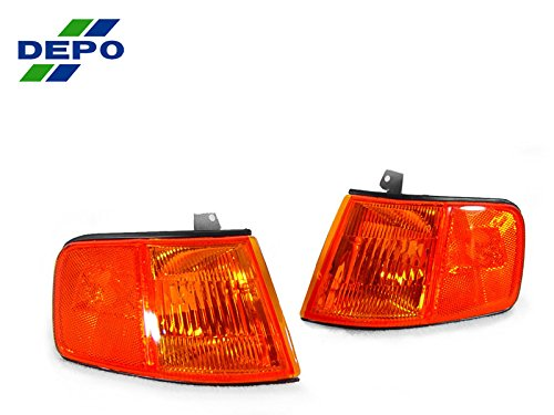 REVi MotorWerks DEPO US Spec Amber Corner Lights JDM Style Set FIT for 1990-1991 Honda CRX/CR-X