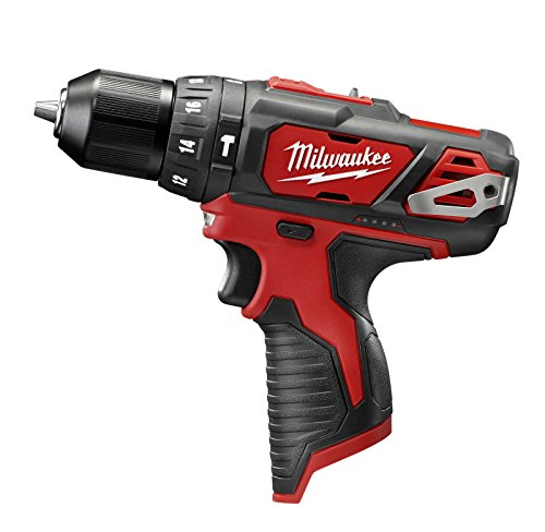 Milwaukee 2408-20 M12 12v Cordless 3/8″ Hammer Drill / Driver – Tool Only For Sale