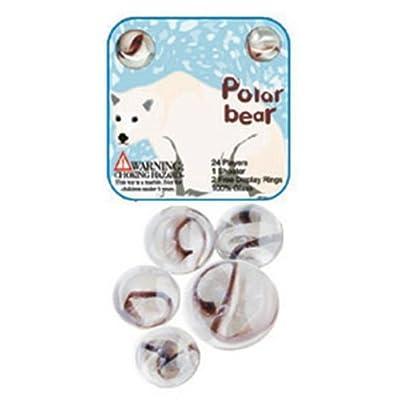 Fabricas Selectas Polar Bear Marble Set: Toys & Games