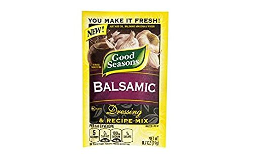 Good Seasons Balsamic Dressing and Recipe Mix (Pack of 4) .7 oz Packets (Best Balsamic Dressing Recipe)