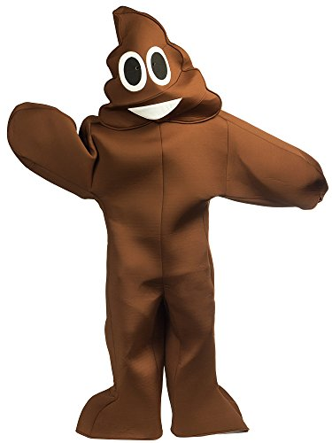 Poop Costumes (Emoji Poop Licensed Halloween Costume w Mask)
