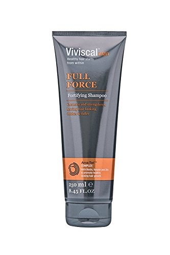 Viviscal Man Full Force Fortifying Shampoo, 8.45 Ounces each, 2 Pack