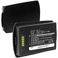 SPECTRALINK 8400 Cordless Phone Battery Li-Ion, 3.7V, 1200 mAh, Ultra Hi-Capacity Battery - Replacement Battery for Spectralink 1520-37214-001 Cordless Phone Battery