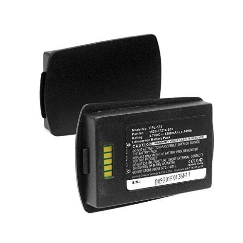 SPECTRALINK 8400 Cordless Phone Battery Li-Ion, 3.7V, 1200 mAh, Ultra Hi-Capacity Battery - Replacement Battery for Spectralink 1520-37214-001 Cordless Phone Battery