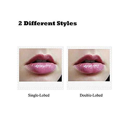 Lip Plumper Tool QY Sexy Full Best Lip Plumper Device Mouth Beauty Lip Pump Enhancement (Red)