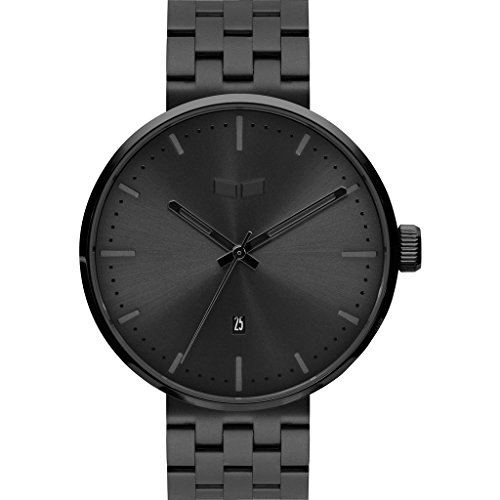 Vestal Women's 'ROOSEVELT METAL' Quartz Stainless Steel Dress Watch, Color:Black (Model: RS42M02.5BKB)