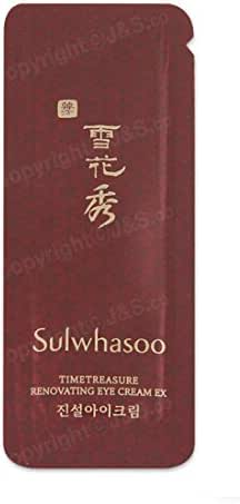30pcs X Sulwhasoo NEW Timetreasure Renovating Eye Cream EX 1ml