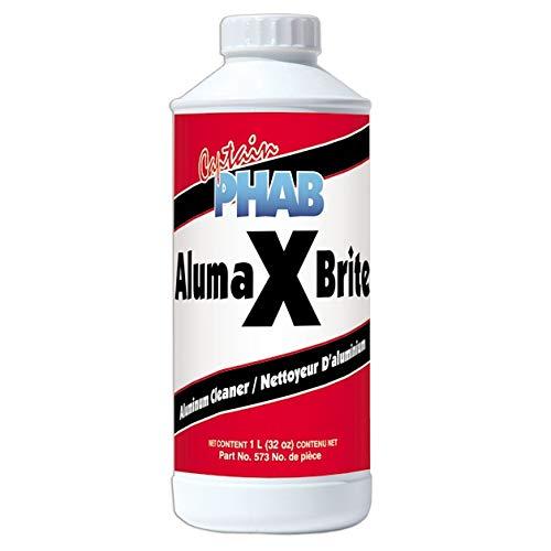 Captain Phab Aluminum Cleaner Aluma X Brite 1 L / 0.26 G (Aluminum Brite Cleaner)