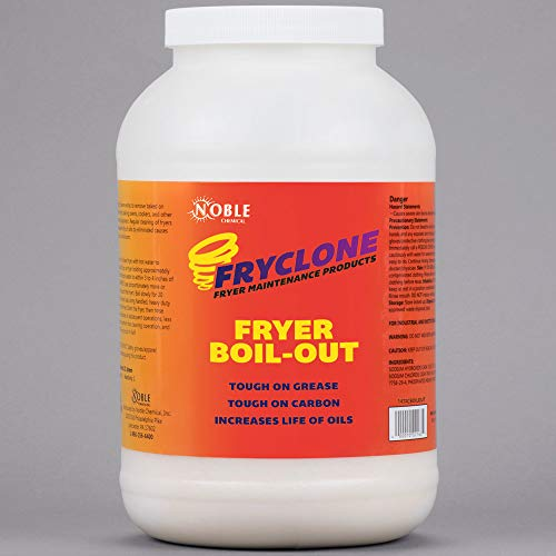Amazon.com: Noble Chemical 8 lb. Fryclone Boil-Out Fryer Cleaner | Case of 4: Kitchen & Dining