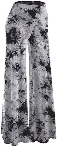 Womens Comfy Solid Tie Dye Palazzo product image