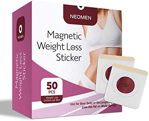 Weight Loss Sticker, Fat Burning Adhesive Sticker Magnets, For Beer Belly, Buckets Waist, Waist Abdominal Fat, Quick Slimming (50 Pcs)