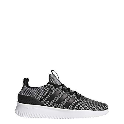 Adidas Cloudfoam Ultimate - Zapatillas de Running para Hombre, Negro/Negro/Blanco, 11 M US