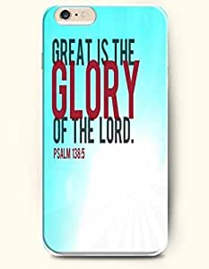 iPhone 6 plus Case,OOFIT iPhone 6 plus Hard Case **NEW** Case with the Design of Great is the glory of the lord psalm 138:5 - Case for Apple iPhone iPhone 6 plus (2014) Verizon, AT&T Sprint, T-mobile