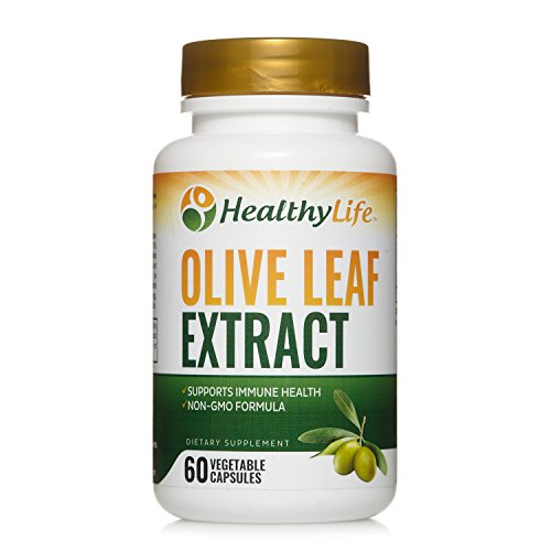 Olive Leaf Extract 750mg | 60 Vegetable Capsules | Upto 2 Months Supply | Contains 150 mg of Oleuropein | Non GMO Formula
