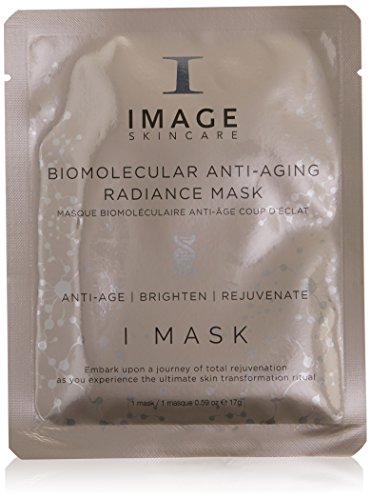 IMAGE Skincare I Biomolecular Anti-Aging Radiance Mask, 0.59 Oz (Image Vitamin C Hydrating Mask)