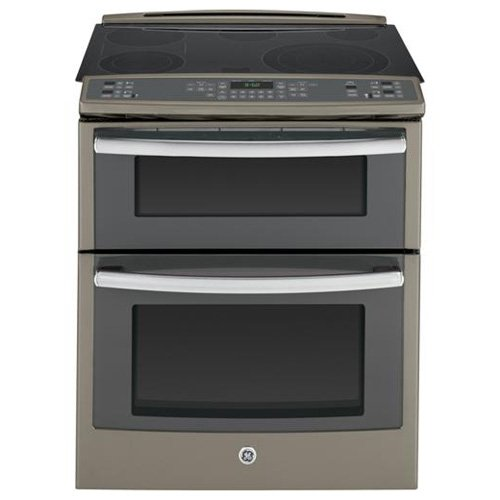 """Ge - Profile Series 30"""" Self-cleaning Slide-in Double Oven E"""