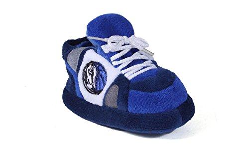 DMA03PR - Dallas Mavericks NBA Happy Feet Baby Slippers (Mavericks Nba Shoe Basketball)