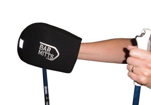 Bar Mitts x-country Schneeschuh Ski Pole Pad, Schwarz, Eine Größe von bar pad