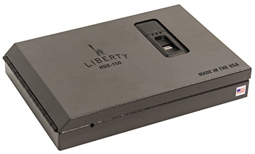 Liberty Safe Handgun Vaults Biometric Smart Vault, Small