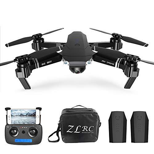 Goolsky Drone RC 4K SG901 Cuadricóptero con Cámara Posicionamiento de Flujo óptico Interfaz MV Sígueme Video de Gestos…