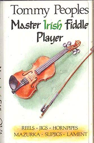 (TOMMY PEOPLES: Master Irish Fiddle Player Cassette Tape)