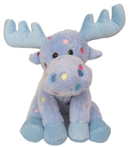 Wishpets 10  Candy Dot Floppy Moose  Blue