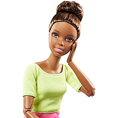 Barbie Made to Move Doll, Yellow Top [ Exclusive]: Toys & Games