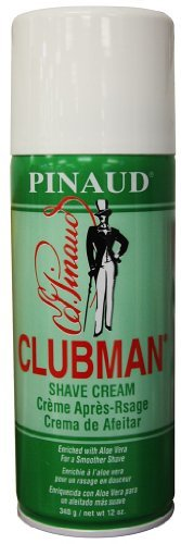 Clubman Shave Cream 12 Ounce (354ml) (6 Pack)
