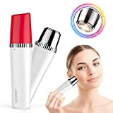Facial Hair Remover for Women, Xpreen Painless Hair Removal Waterproof Women's Hair Razor Shaver trimmer, Perfect Lady Trimmer for Upper Lip Chin Cheek Face Body Hair