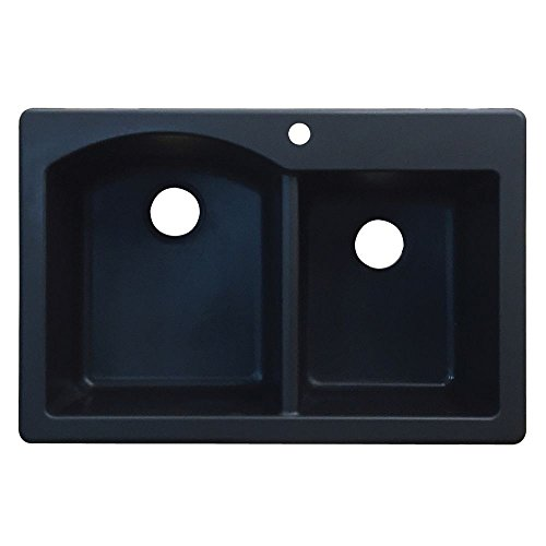 Anthracite Double Bowl Kitchen Sink - 8