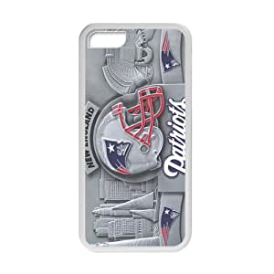 YYYT New England Patriots Cell Phone Case for Iphone 5C