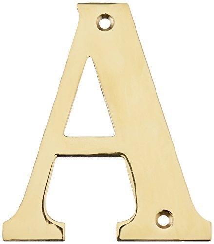 (Deltana RL4A-CR003 4-Inch Residential Letter A House Board by Deltana)