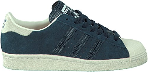 adidas - Superstar 80s Zapatos - Blue - 41 1/3