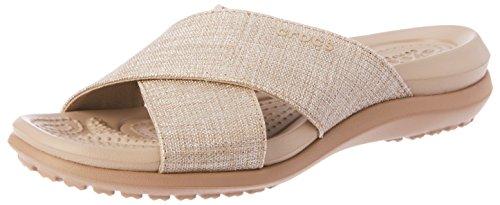 9c92fcff7142 Crocs Women s Capri Shimmer Xband Sandal