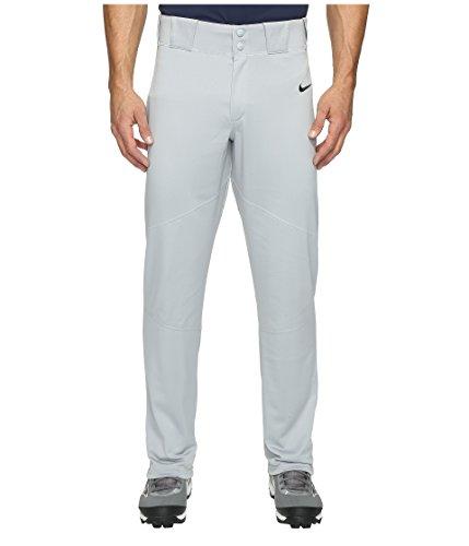 (Nike Men's Pro Vapor Baseball Pant Wolf Grey/Black Size Large)