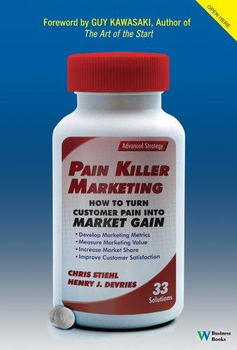 Download Pain Killer Marketing: How to Turn Customer Pain into Market Gain PDF